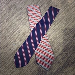 Two BROOKS BROTHERS Makers Ties Mens Dress EUC